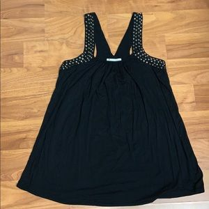 Forever 21 Studded Flowy Tank Top
